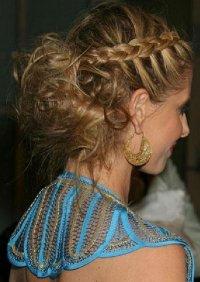 Причёски греческие на длинные волосы своими руками