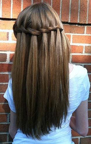 Прически на длин волосы своими руками